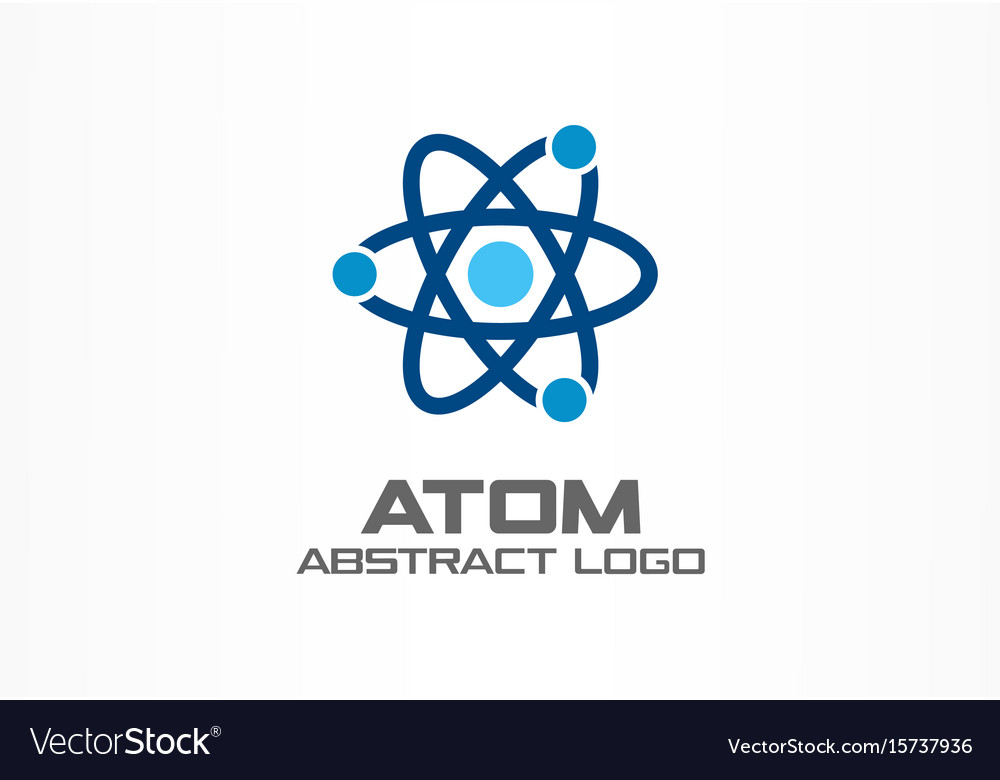 Abstract logo for business company corporate vector image