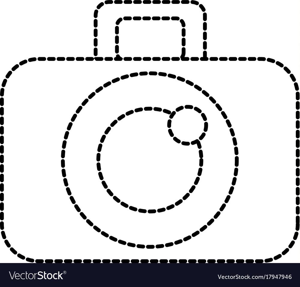 Graphic design camera studio icon symbol vector image