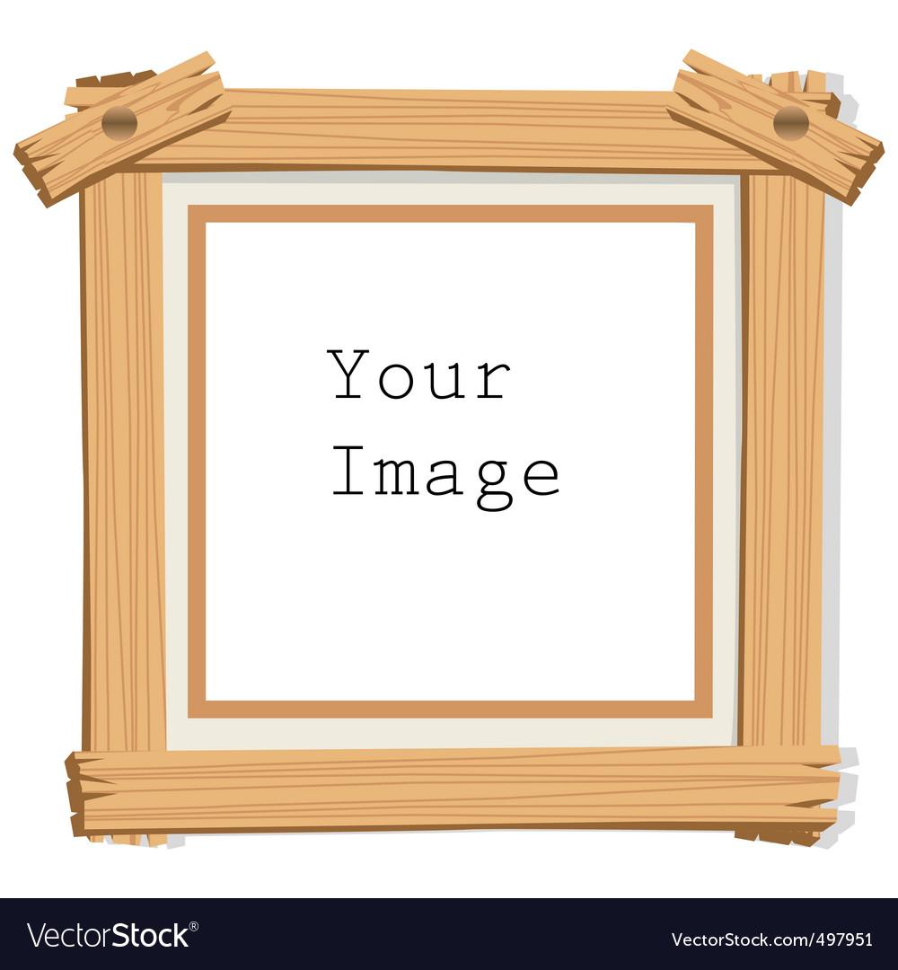 Wood frames set free vector - Wooden Frame Vector Image