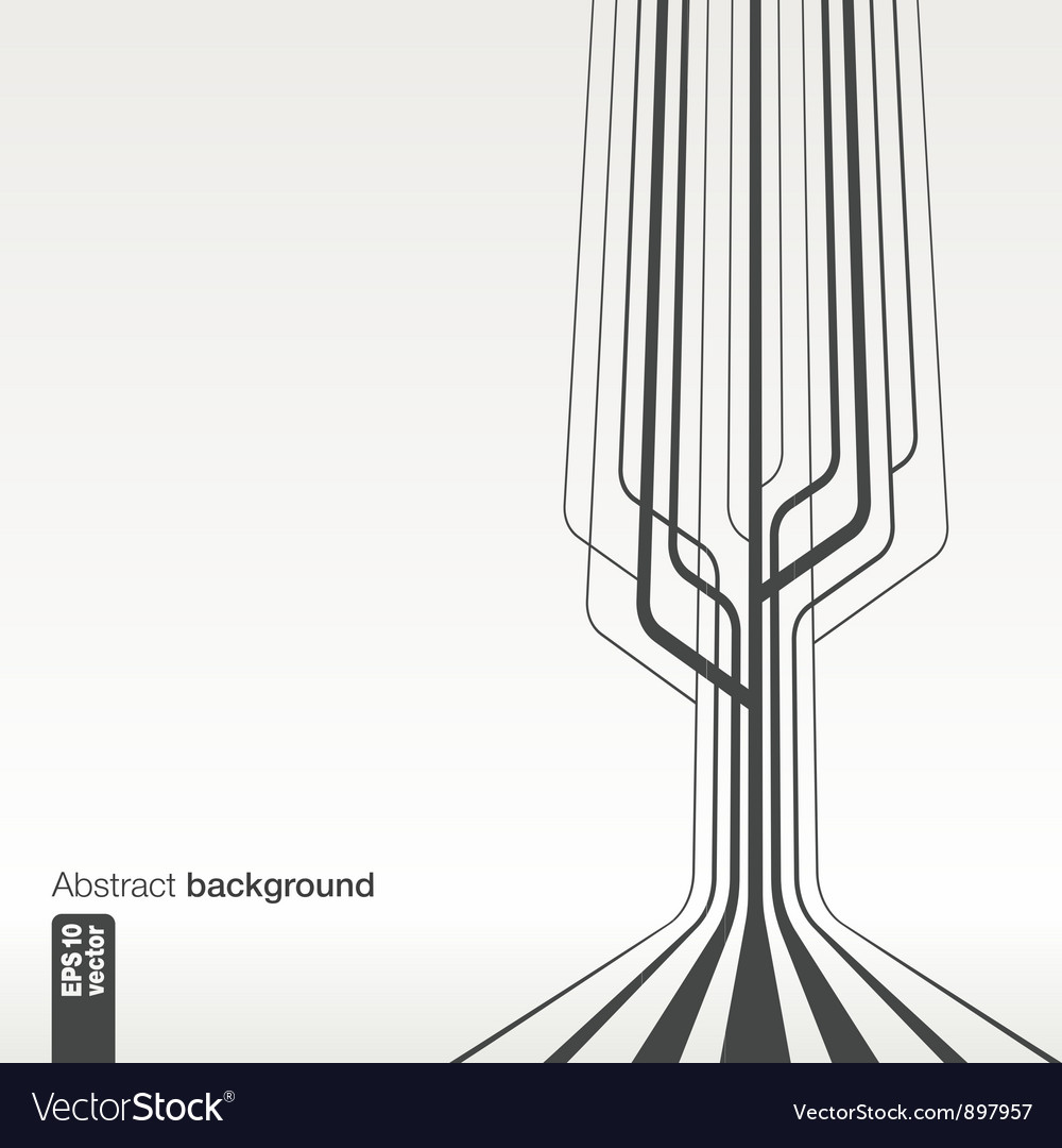 Abstract line background vector image