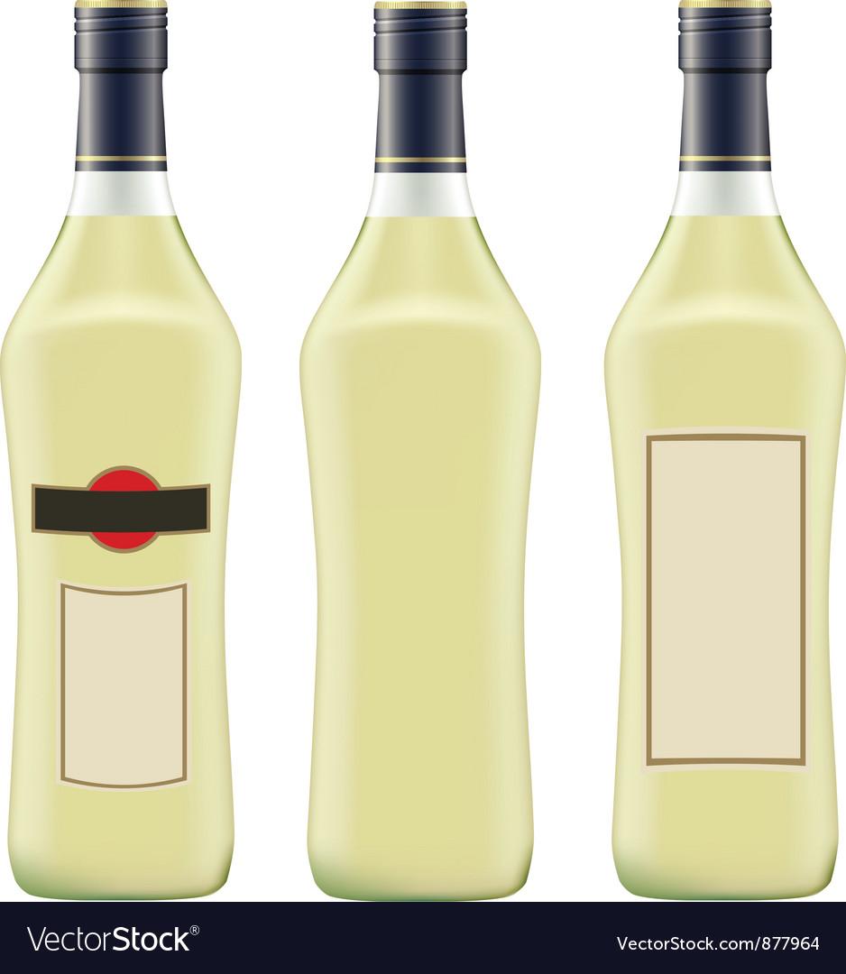 Vermouth martini vector image