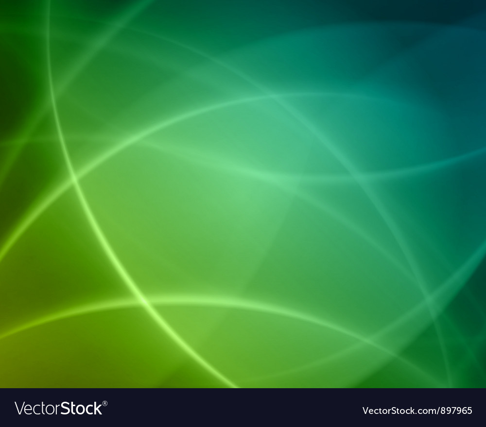 Colorful smooth twist light lines background vector image
