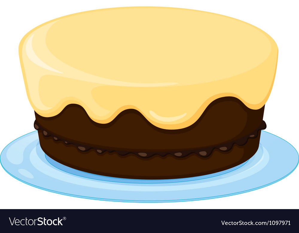 A cake vector image