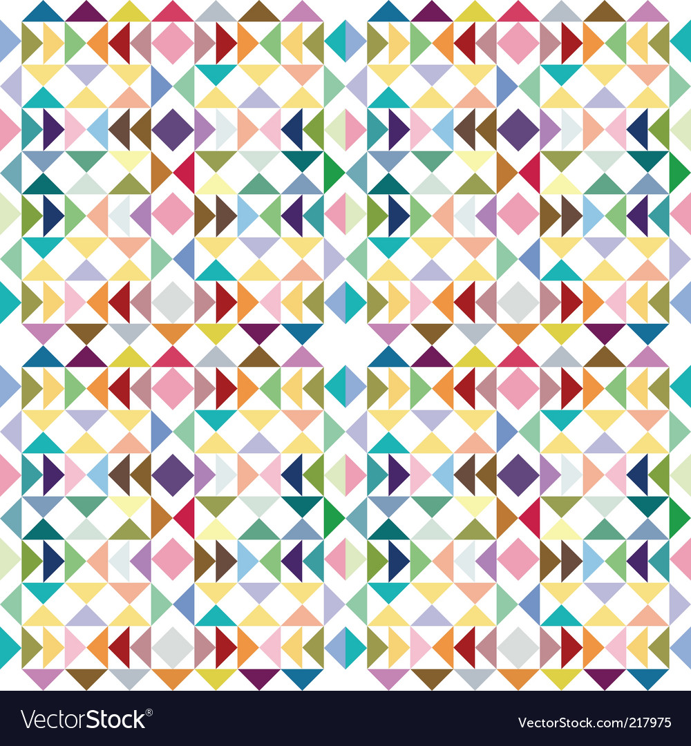 Triangle pastel texture vector image
