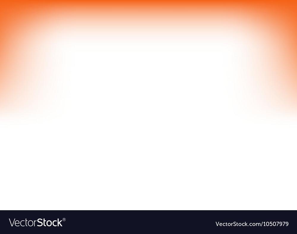White Orange Copyspace Background vector image