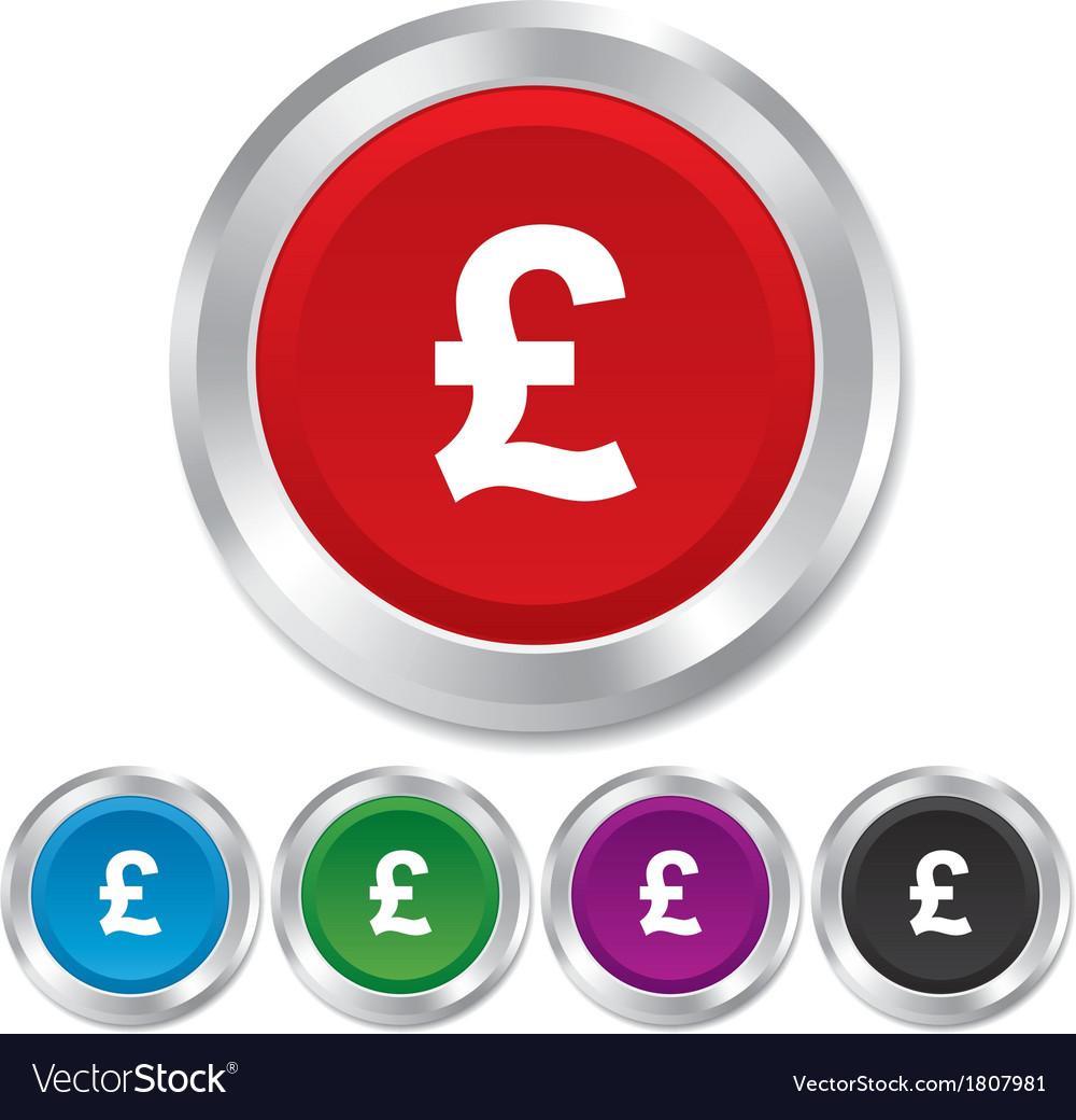 Pound sign icon gbp currency symbol royalty free vector pound sign icon gbp currency symbol vector image buycottarizona Choice Image