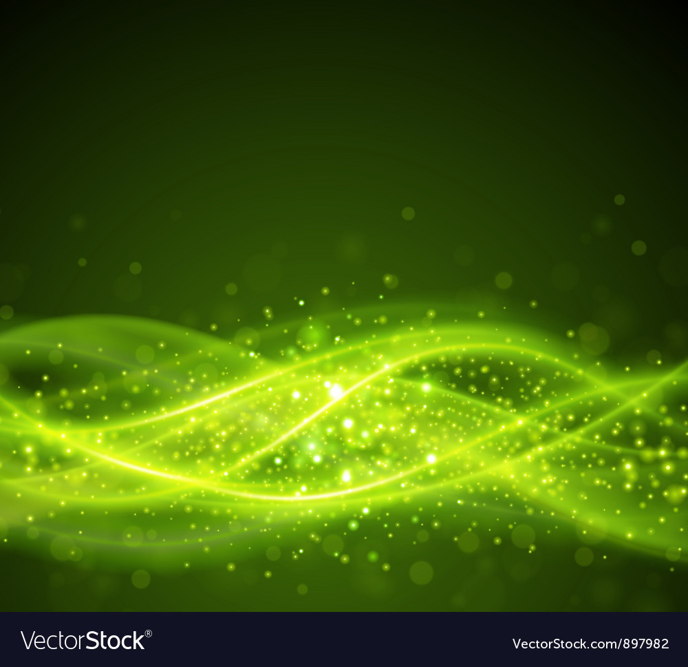Abstract smooth light lines background Vector Image