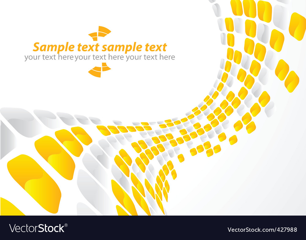 Vector abstract background with square vector image