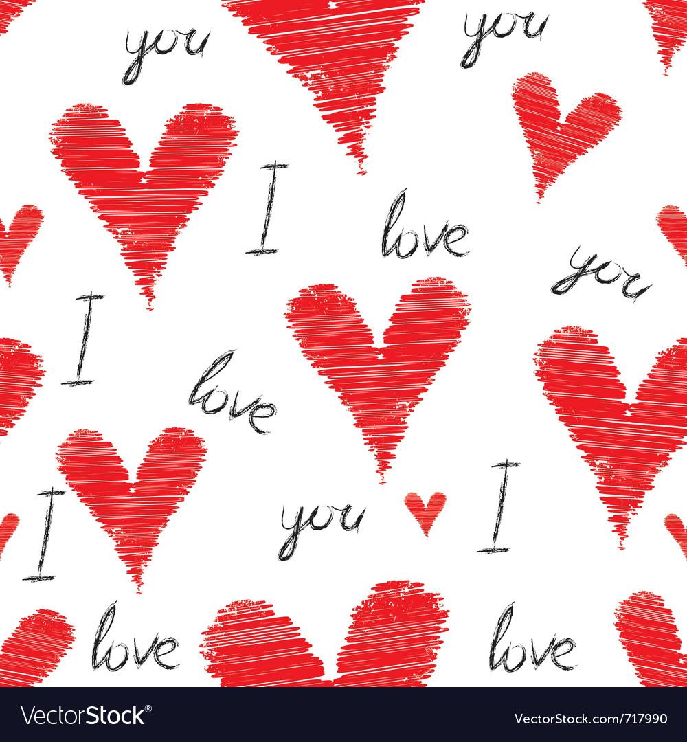 Scribble wallpaper vector image