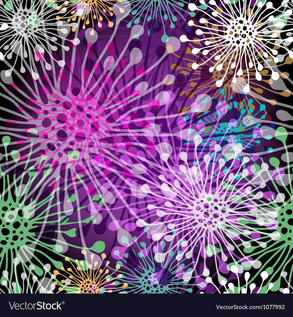 Seamless colorful spotty pattern Vector Image