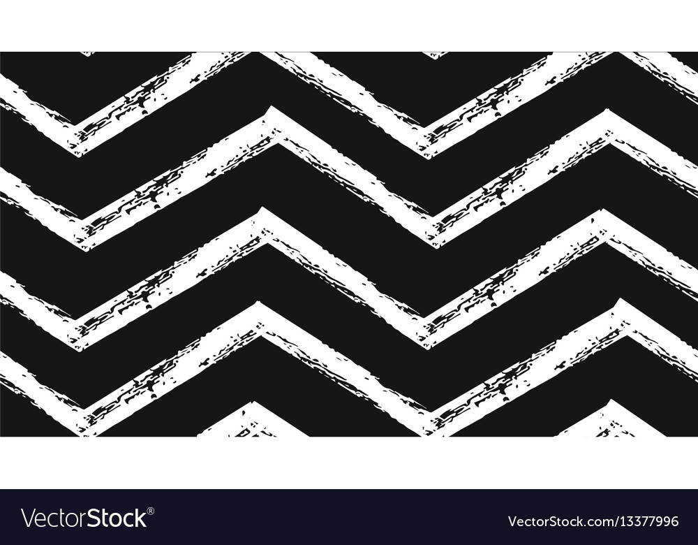 Hand drawn abstract rough geometric vector image