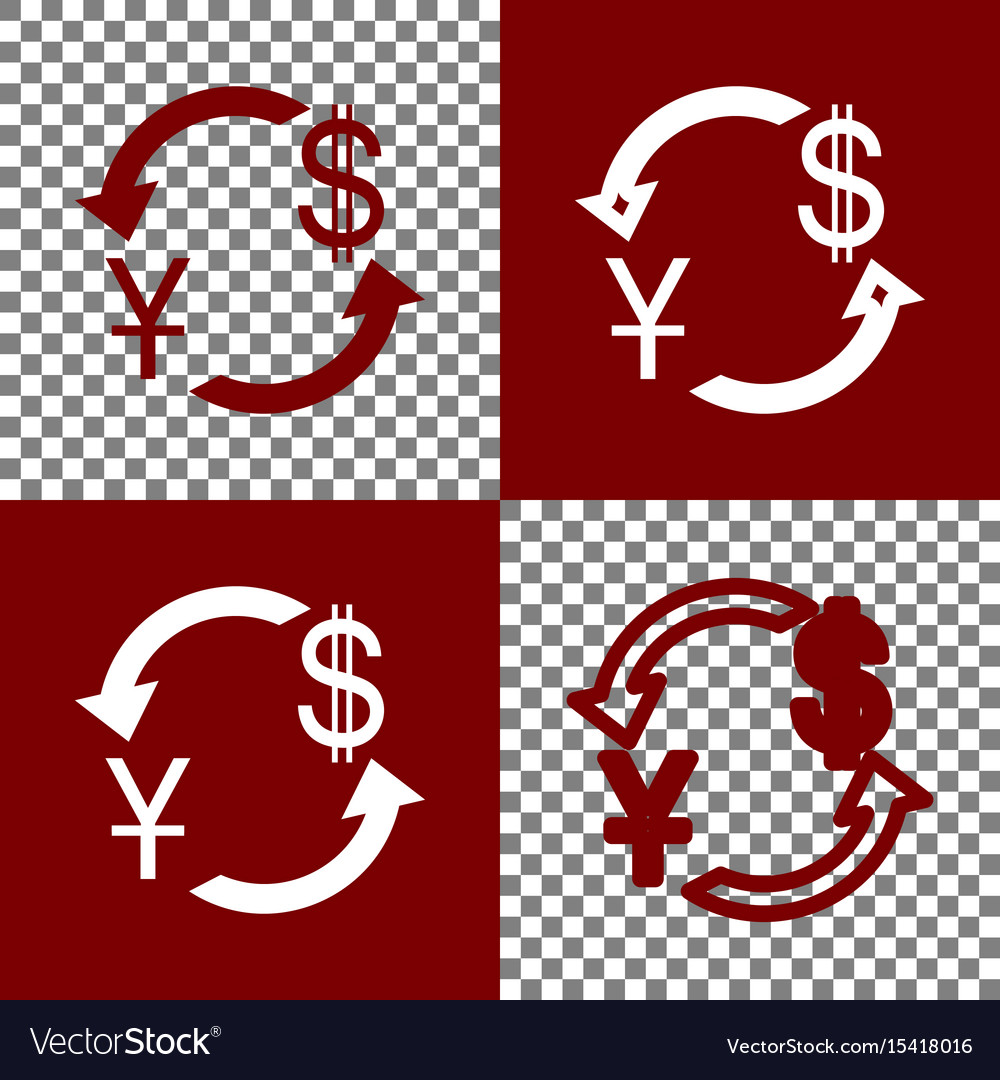 Currency exchange sign china yuan and us dollar vector image currency exchange sign china yuan and us dollar vector image biocorpaavc