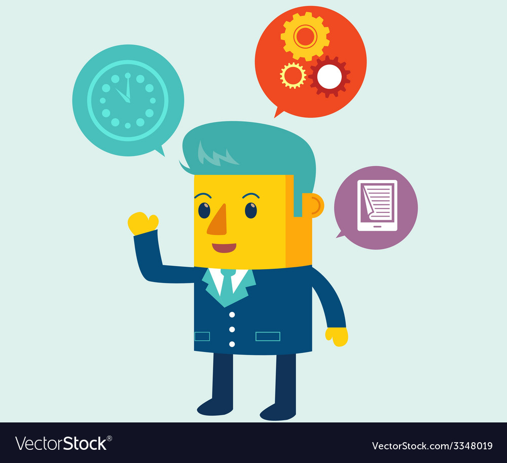 Business Balloon vector image