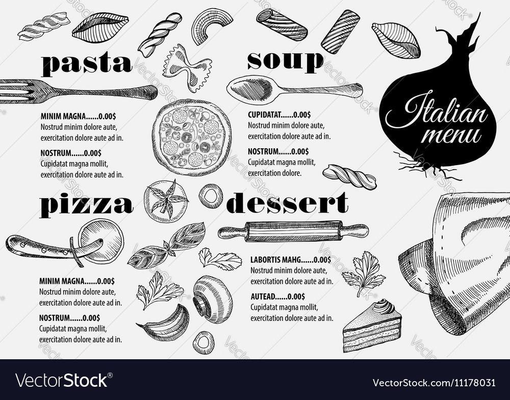 Ausgezeichnet Restaurants Menüvorlagen Ideen - Entry Level Resume ...