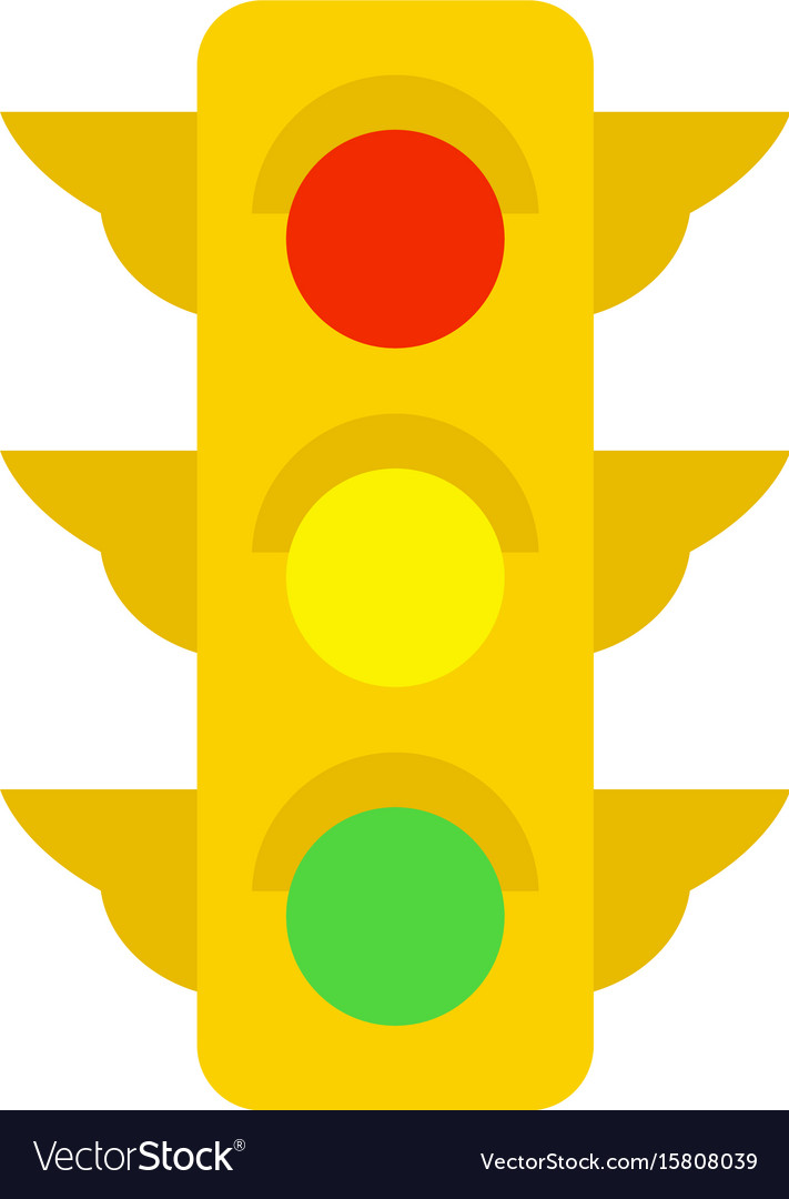 traffic light royalty free vector image vectorstock rh vectorstock com light vector ue4 light vectorworks