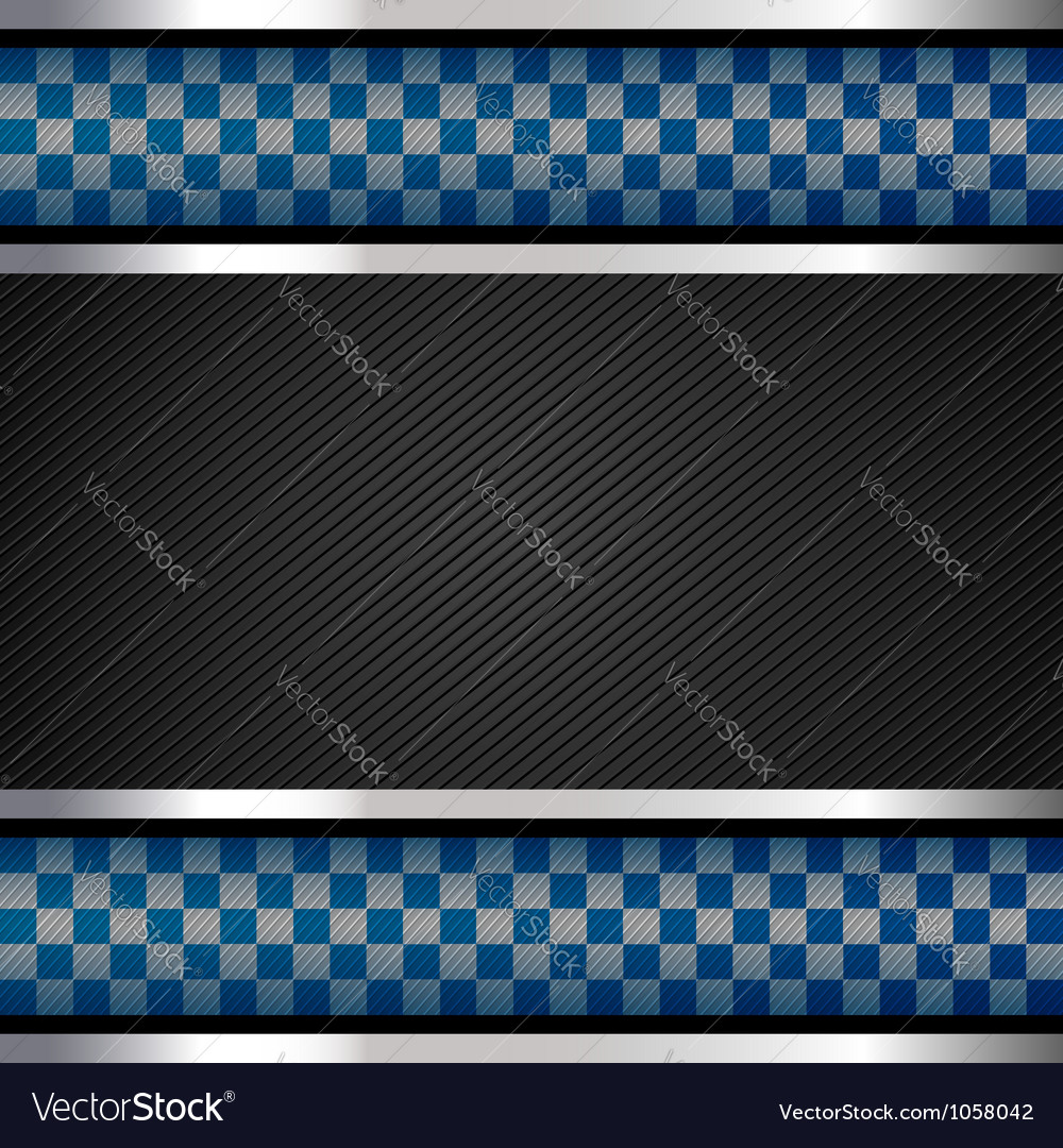 Police backdrop striped surface vector image