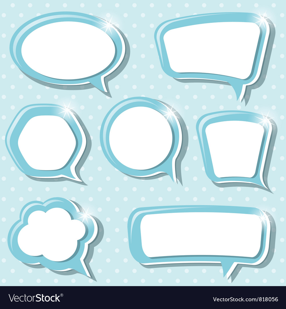 Blues frames vector image