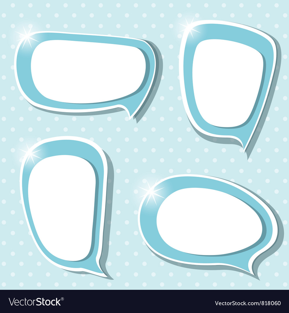 Blues frames vector image