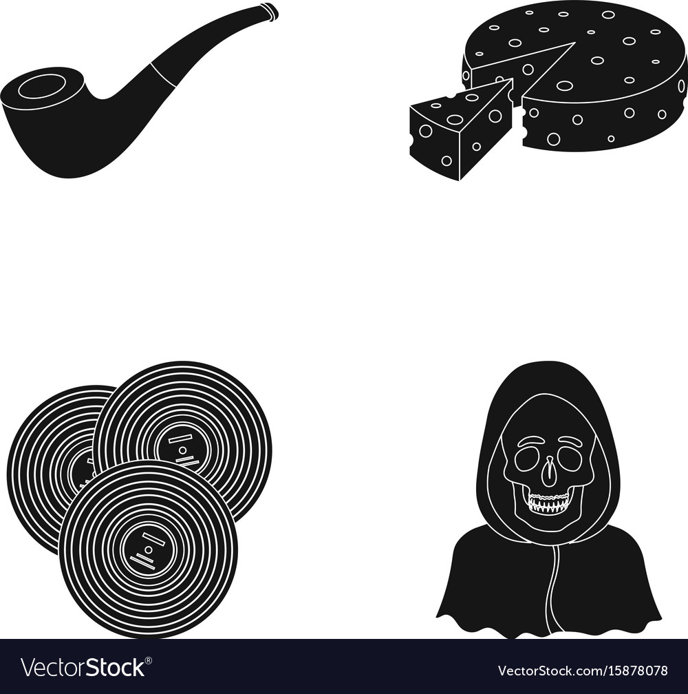 Police art and or web icon in black style ritual vector image