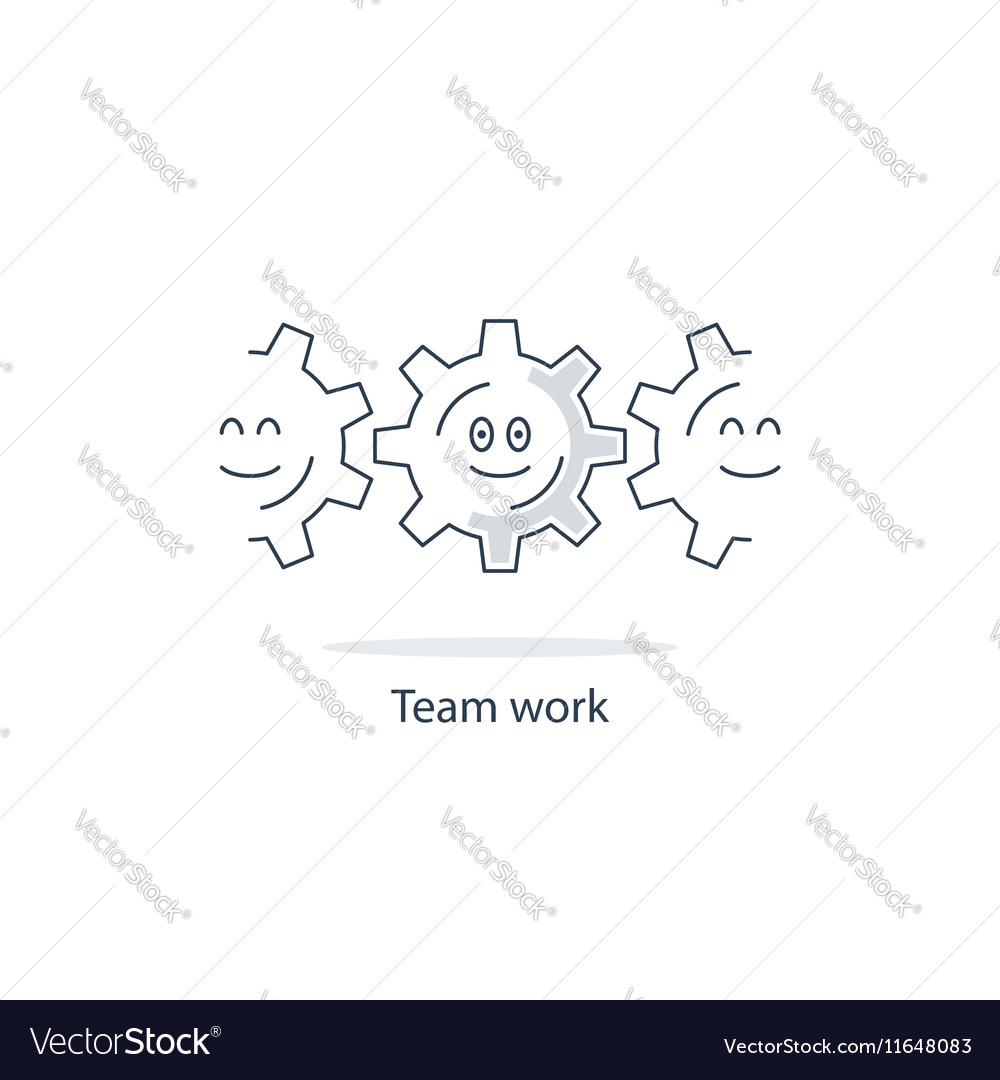 Employment conditions concept vector image