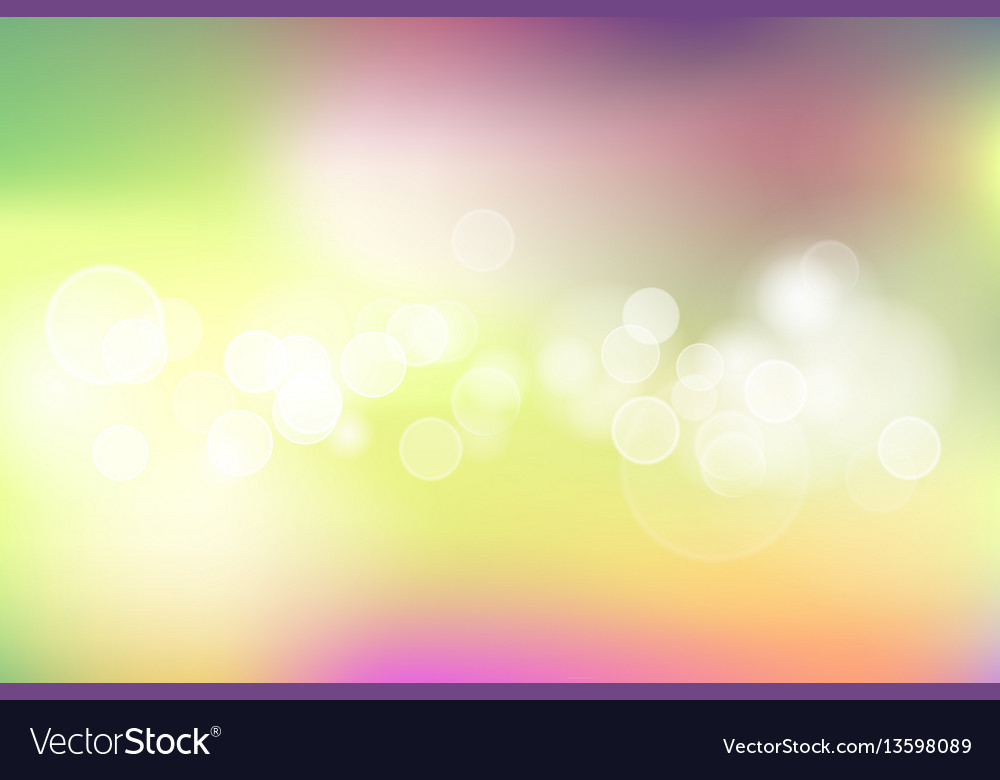 Colorful spring background vector image