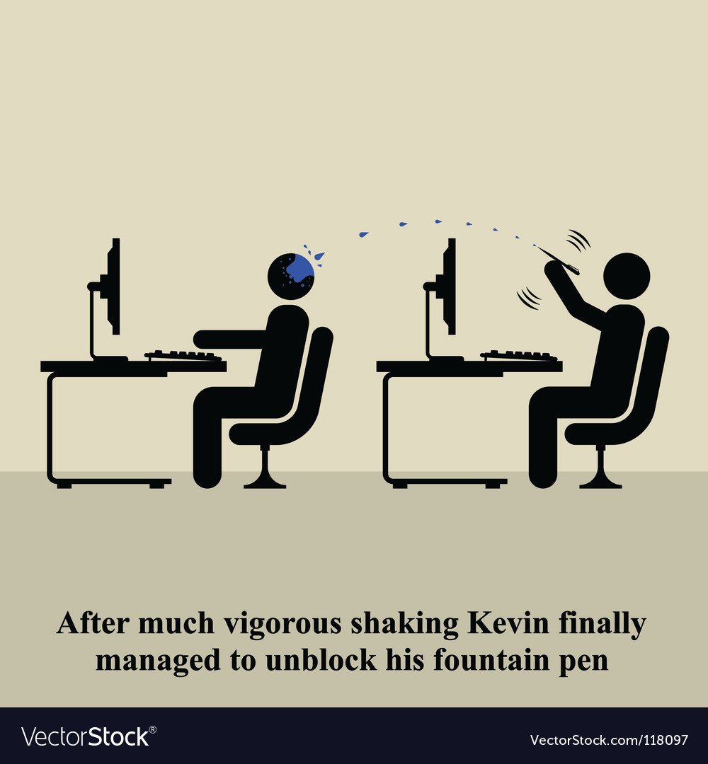 Funny pictogram vector image