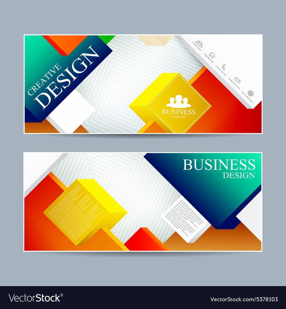 banner layout