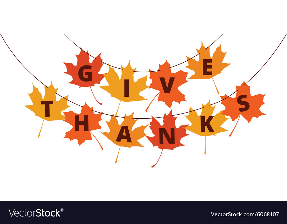 Lovely Thanksgiving Banner Part - 6: Thanksgiving Banner Vector Image
