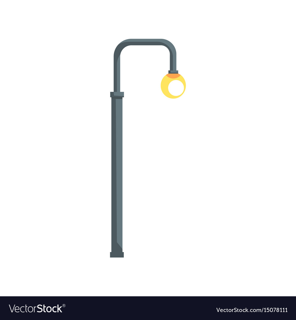 Vintage street lamppost Royalty Free Vector Image for Street Lamp Post Vector  173lyp