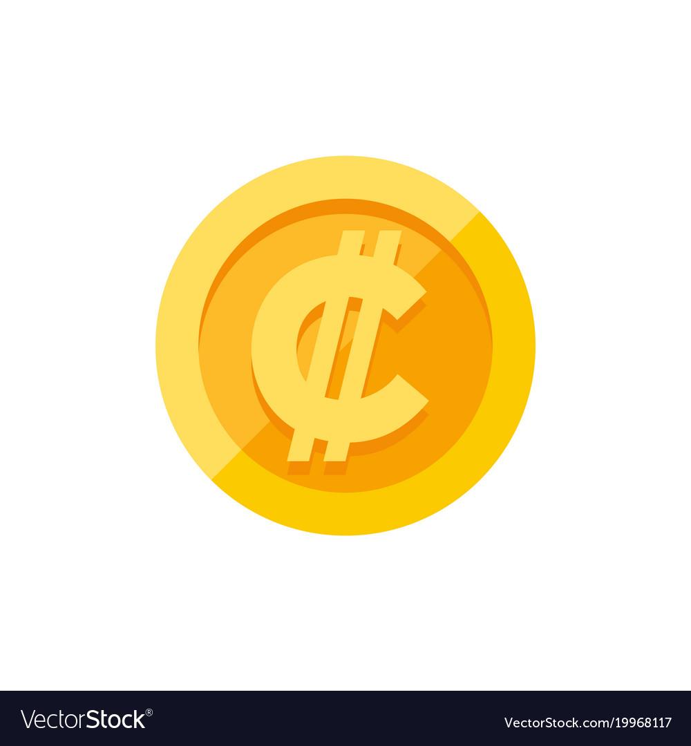 Costa rican and salvadoran colon currency symbol vector image biocorpaavc Gallery