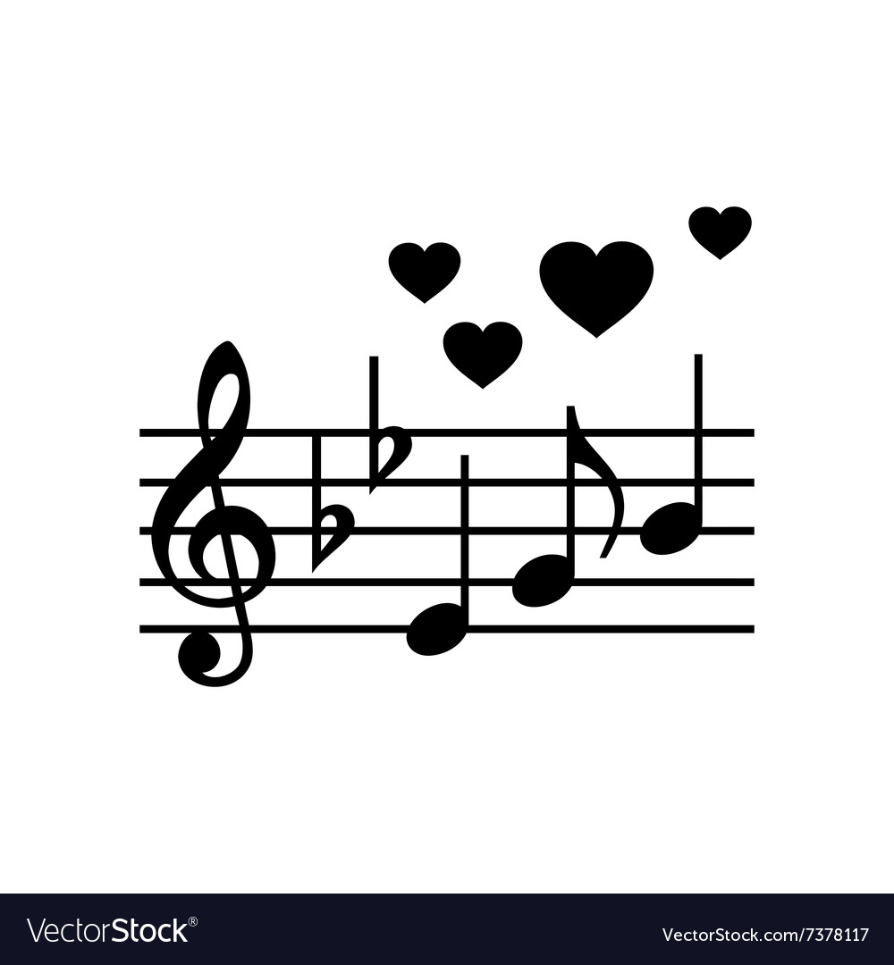 Wedding Music Simple Icon Vector Image