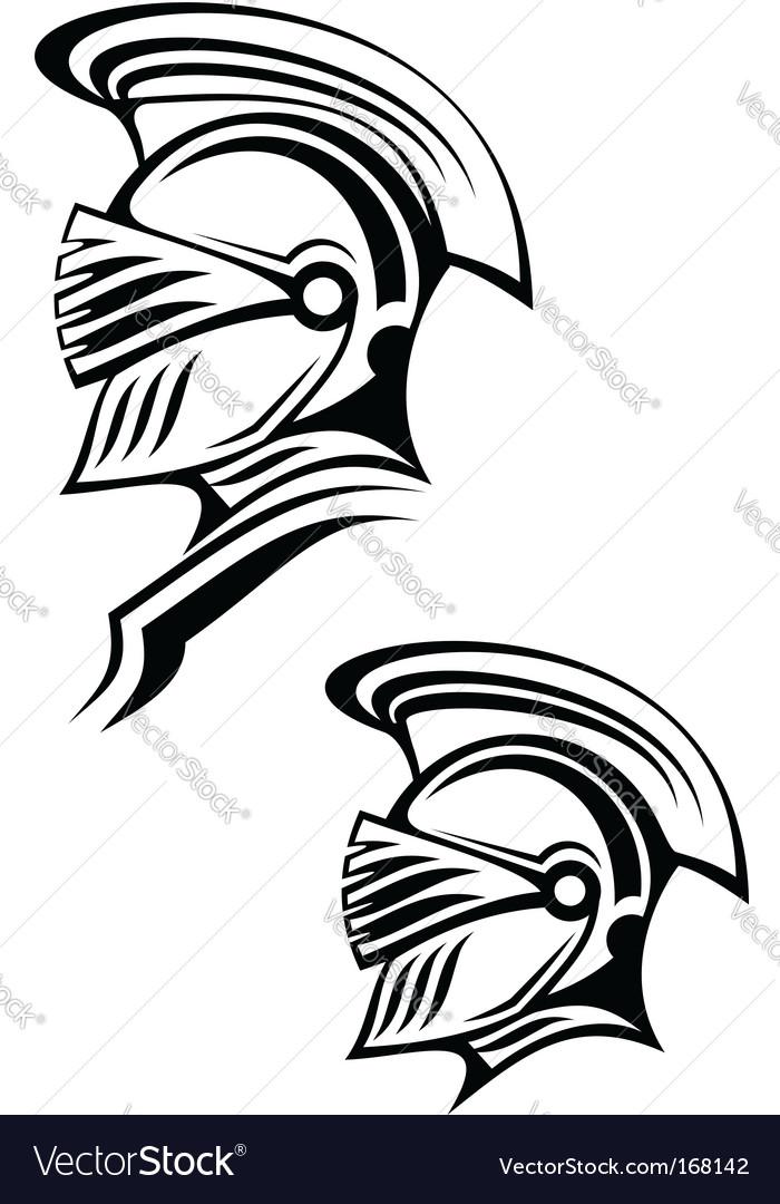 Ancient warrior Vector Image