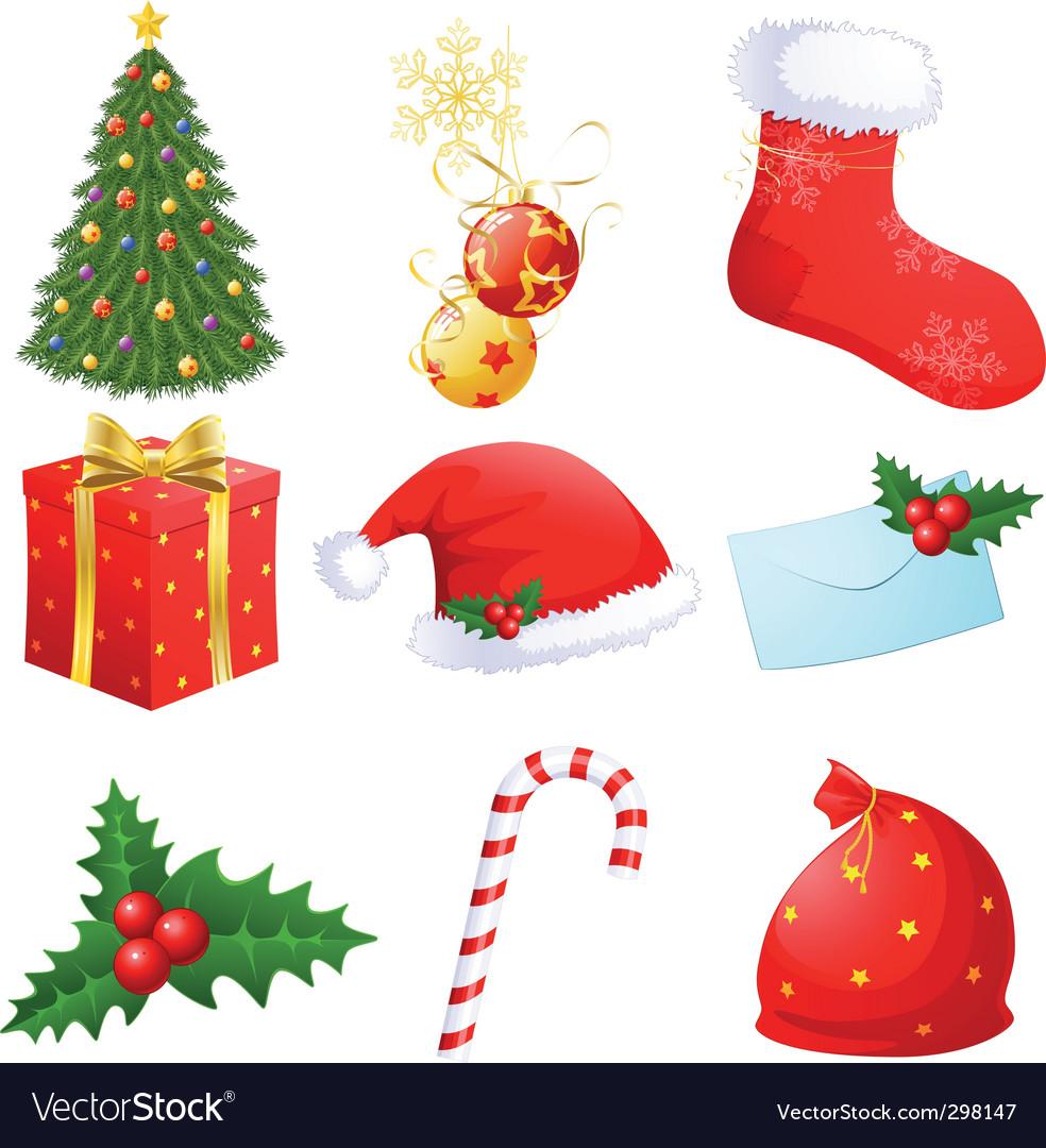Christmas symbols royalty free vector image vectorstock christmas symbols vector image biocorpaavc