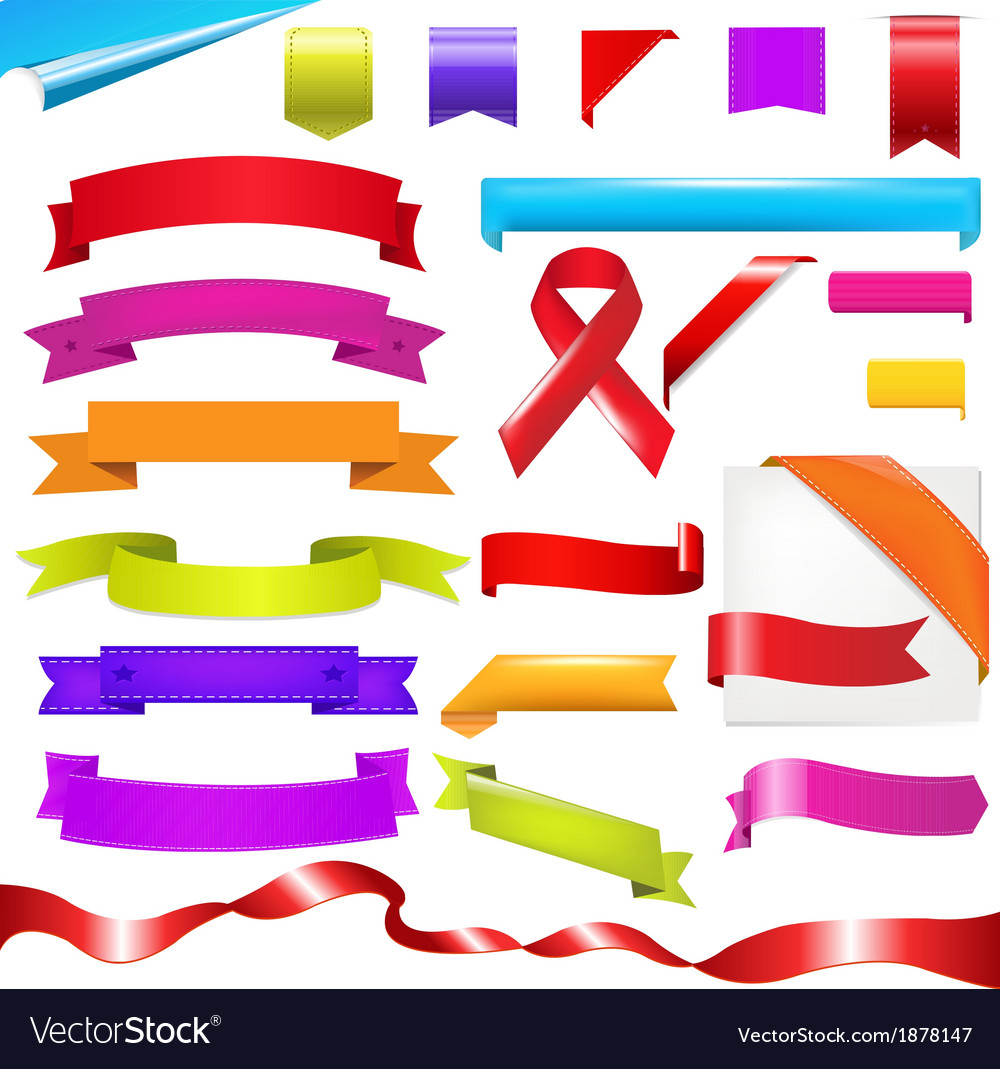 Color Set vector image