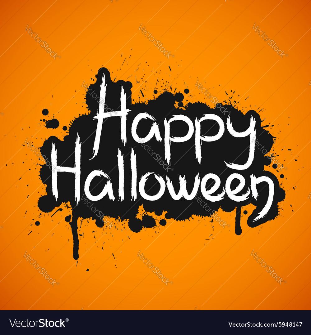 happy halloween card royalty free vector image