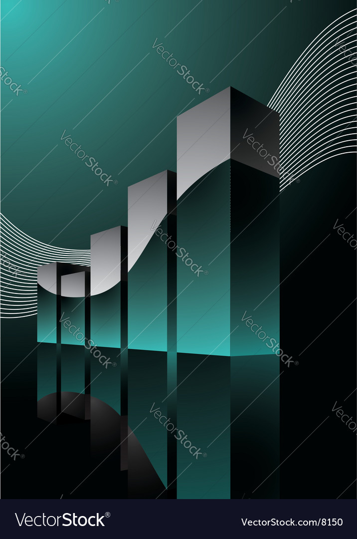 Beauty diagram illustration vector image