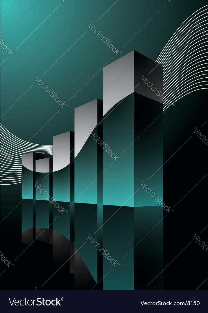 Beauty diagram illustration vector image