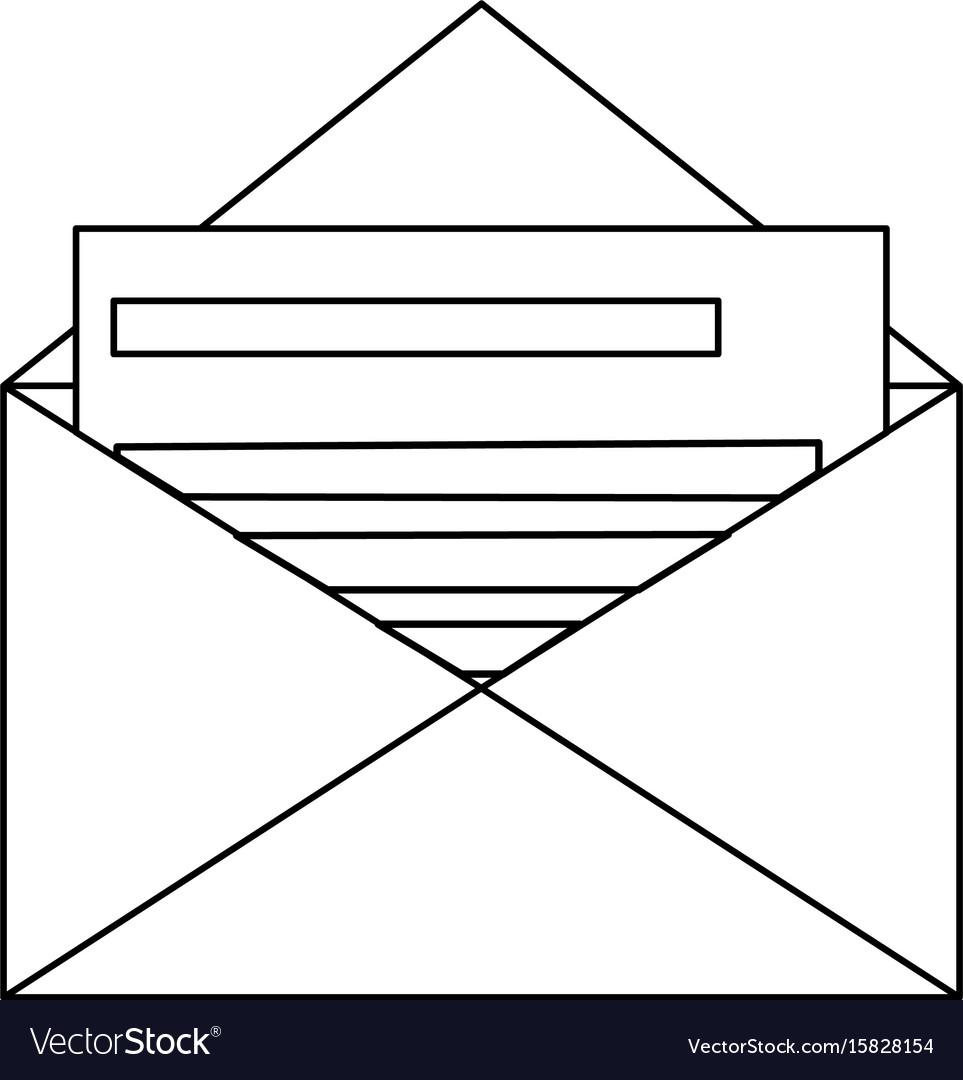 Email envelope message invitation letter concept vector image email envelope message invitation letter concept vector image stopboris Image collections