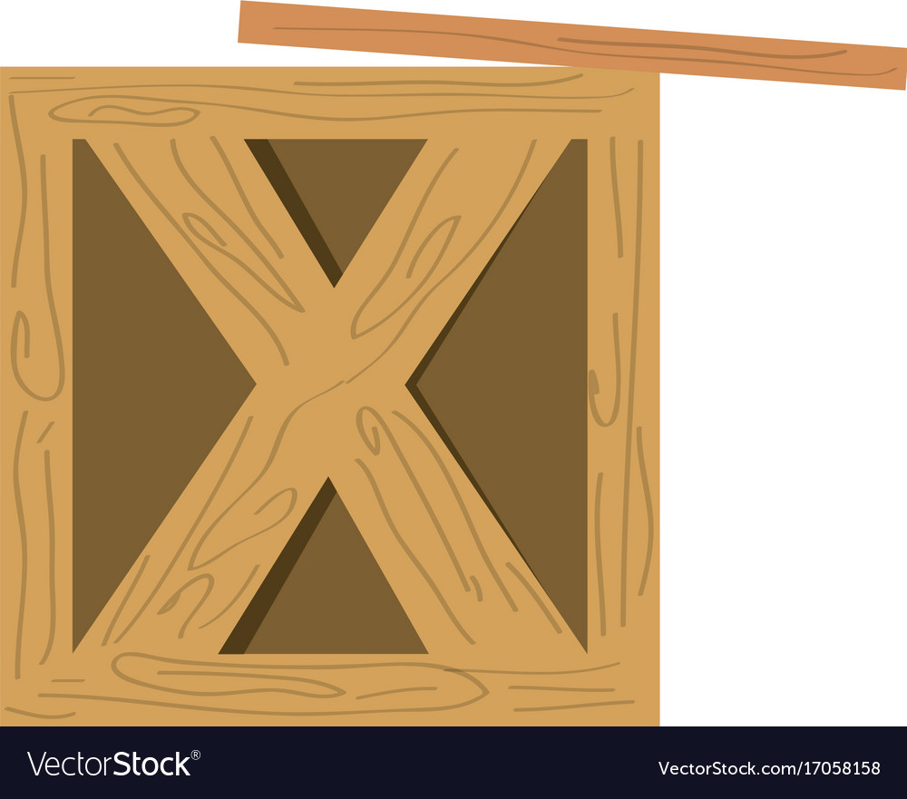 Wooden box delivery royalty free vector image vectorstock wooden box delivery vector image buycottarizona Gallery