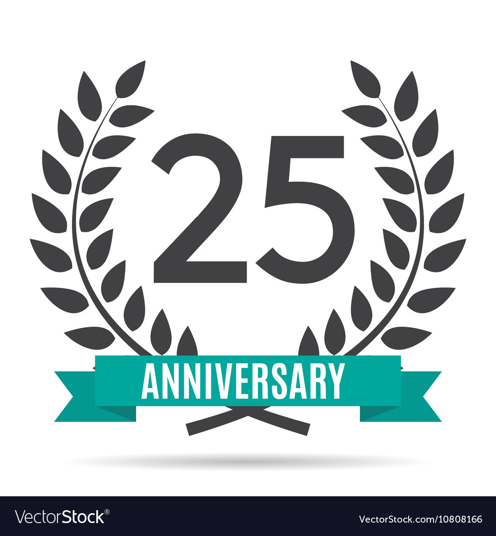 template logo 25 years anniversary royalty free vector image 25th Anniversary with Company Logo 25th Anniversary with Company Logo