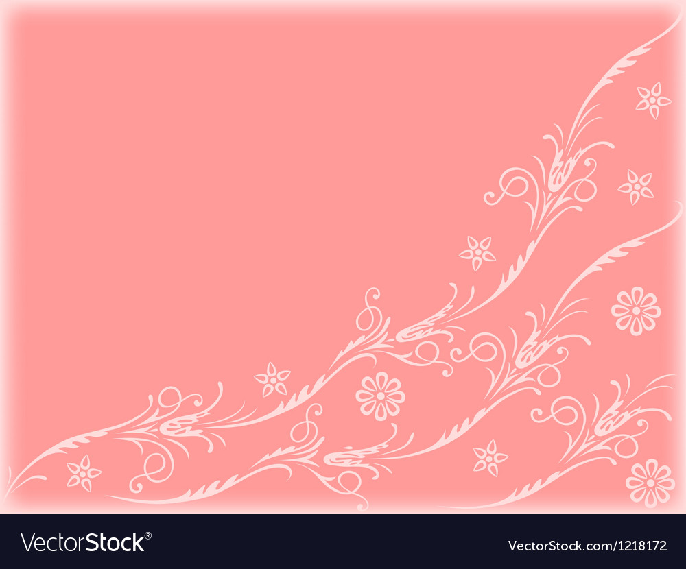 Floral-background2 vector image