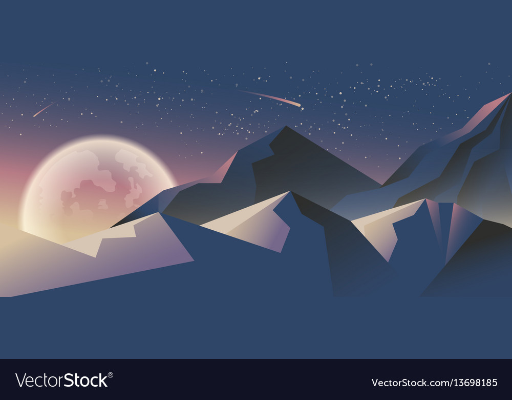 Stock horizontal background vector image