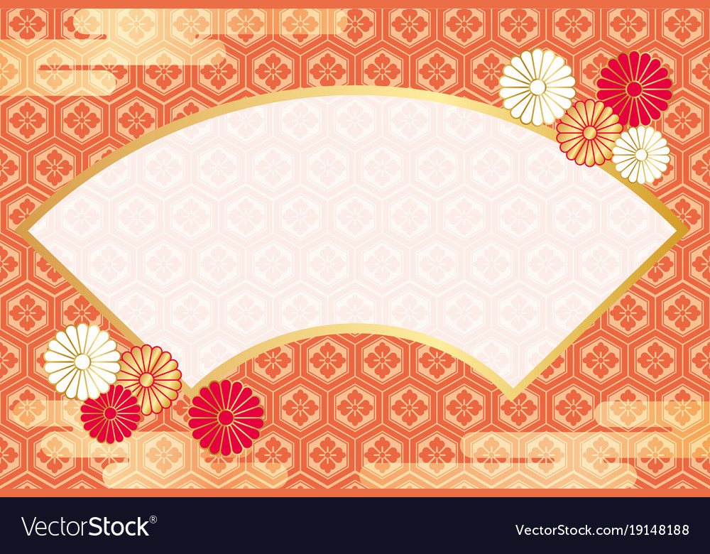 Japanese new years greeting card template vector image m4hsunfo Choice Image
