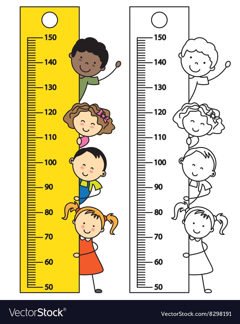 Meter wall vector image