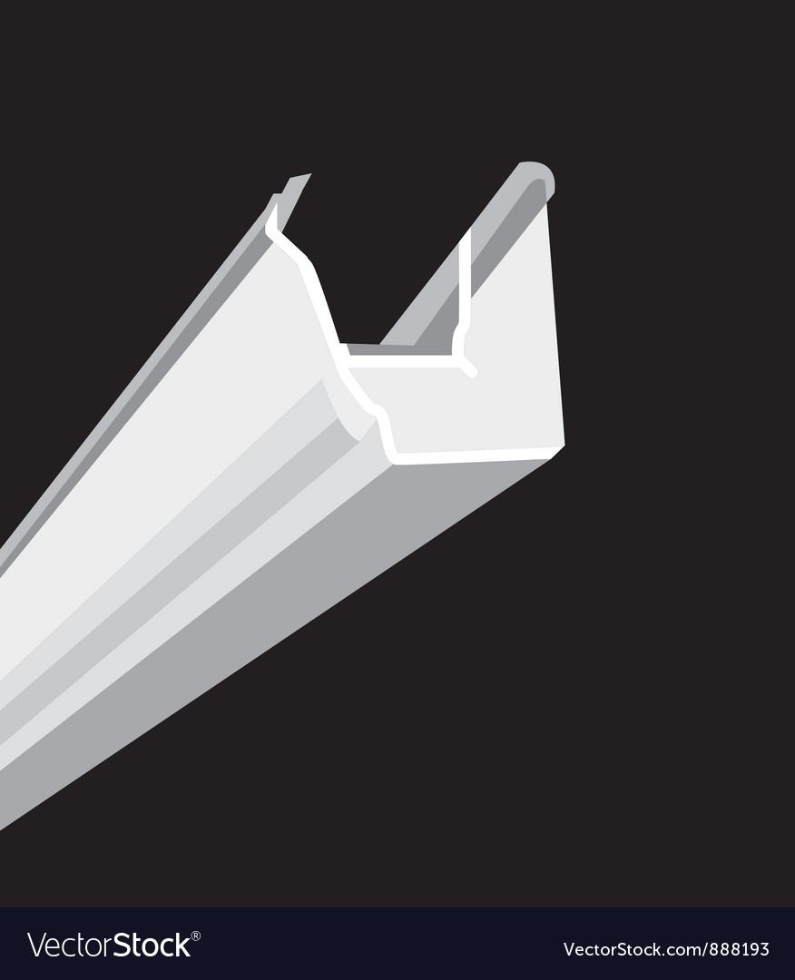 Guttering vector image