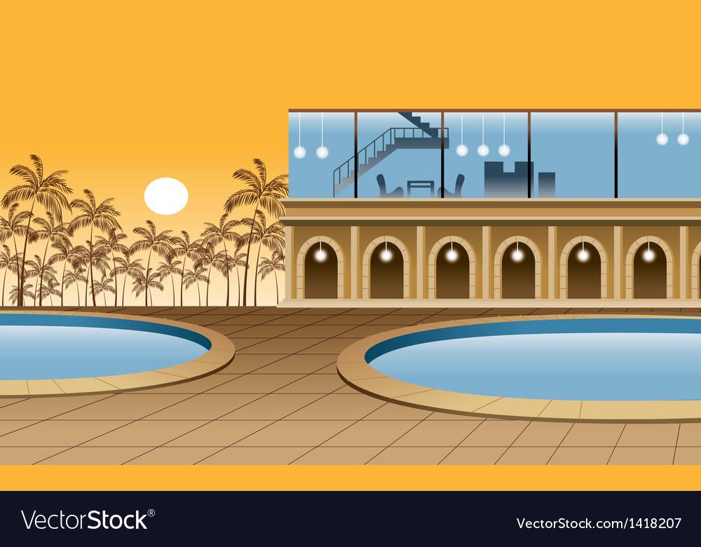 Modern Luxury Home vector image