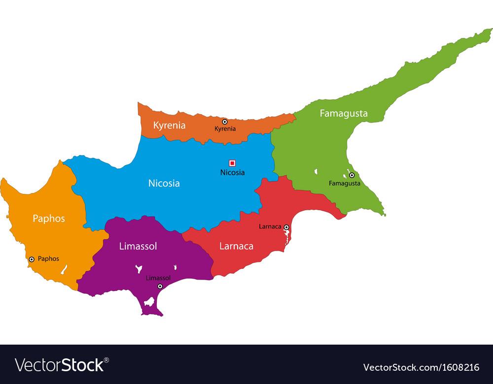Cyprus Map Vector%0A Map Vector Cyprus map vector image
