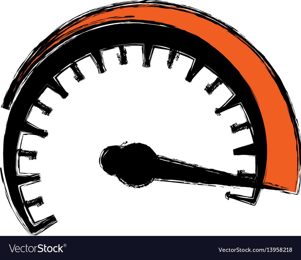 speedometer power car royalty free vector image rh vectorstock com speedometer vector download speedometer vector download