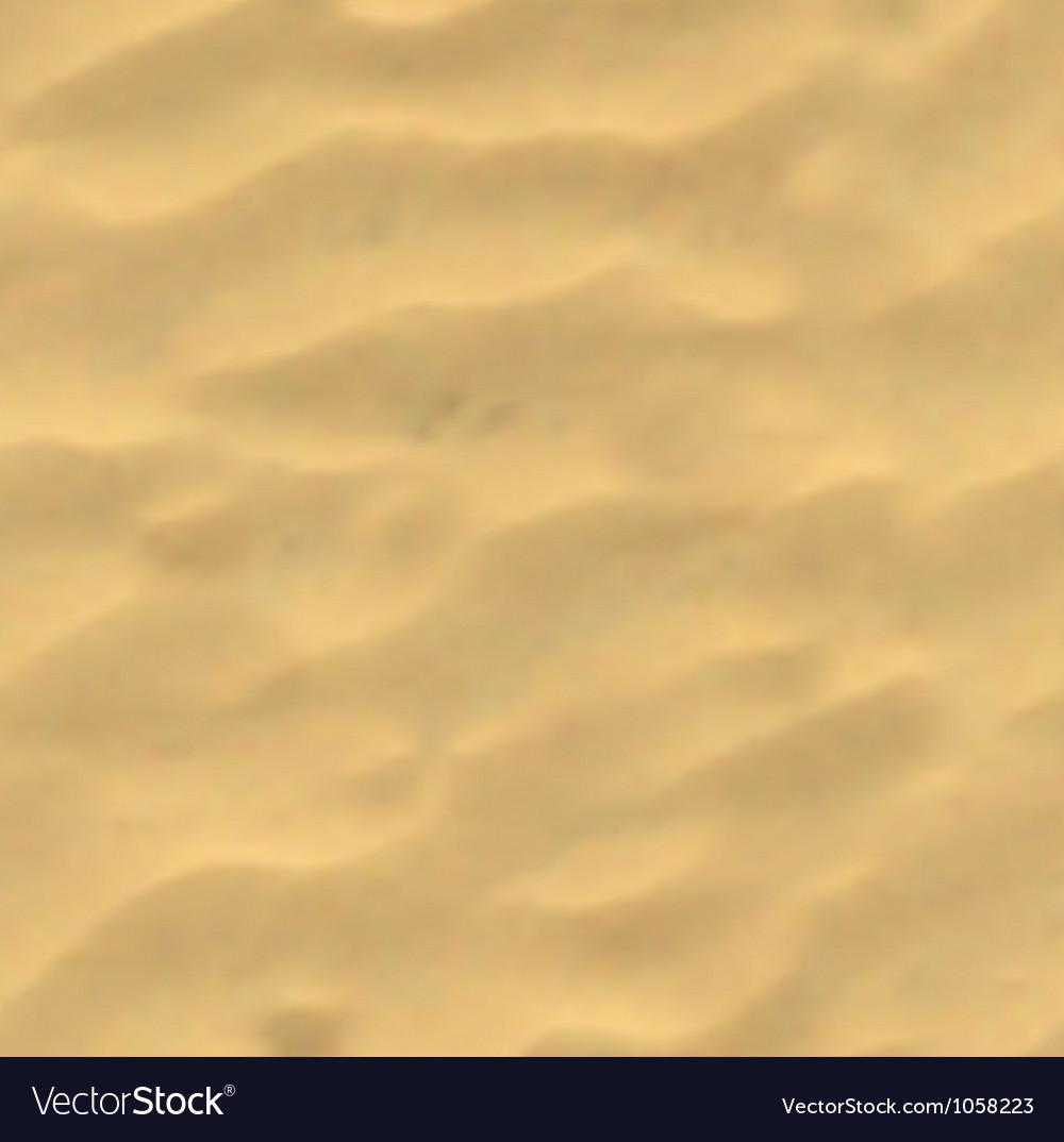 Beach Sand Background Mesh Vector Image