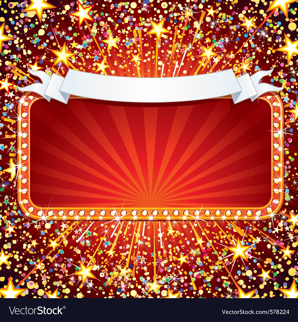 Festive celebration background vector image